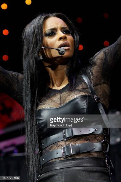 Singer Ciara performs during the WGCIFM 'Big Jam 2010' concert at the Allstate Arena in Rosemont Illinois on DEC 19 2010