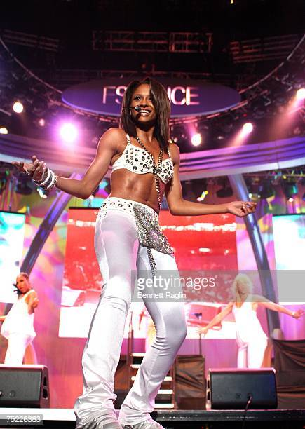 Singer Ciara performs on the Main Stage Day 1 of the 2007 Essense Music Festival July 5 New Orleans Louisana
