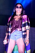 Singer Ciara performs onstage during day 1 of the 2015 Coachella Valley Music And Arts Festival at The Empire Polo Club on April 17 2015 in Indio...