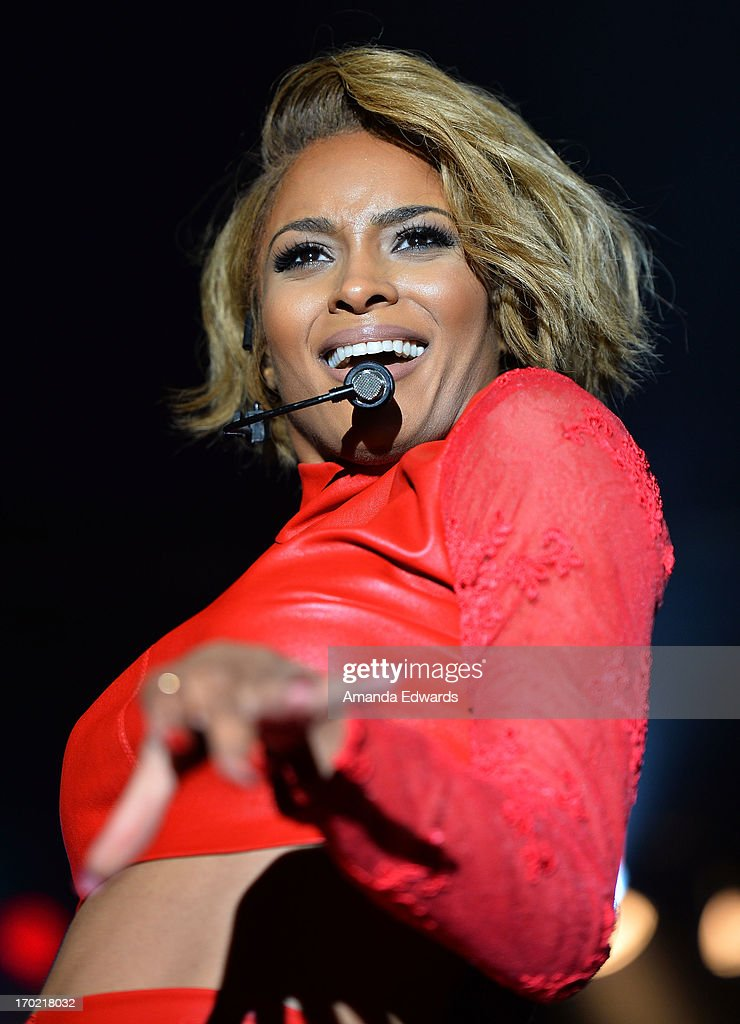 Singer Ciara performs onstage on Day 1 of the 2013 LA Gay Pride Festival on June 8, 2013 in West Hollywood, California.