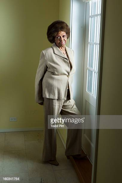 Singer Cissy Houston is photographed for USA Today on January 22 2013 in New York City