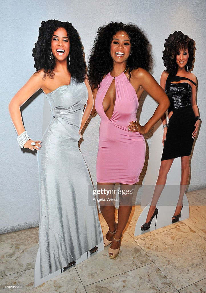 Singer Claudette Ortiz attends the 'R&B Divas LA' premiere event at The London on July 9, 2013 in West Hollywood, California.