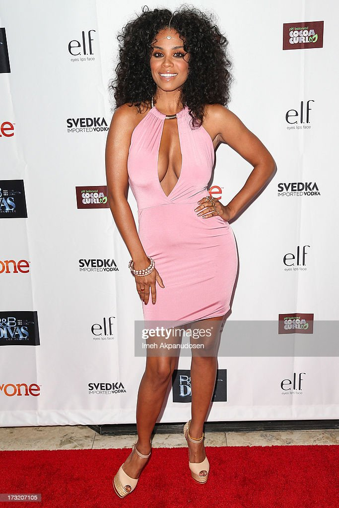 Singer Claudette Ortiz attends the series premiere of TV One's 'R&B Divas LA' at The London Hotel on July 9, 2013 in West Hollywood, California.