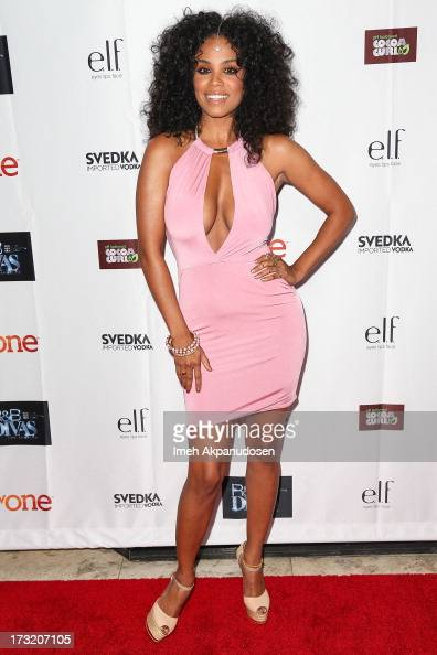 Singer Claudette Ortiz attends the series premiere of TV One's 'RB Divas LA' at The London Hotel on July 9 2013 in West Hollywood California