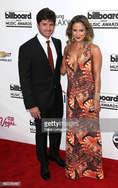 Singer Claudia Leitte and Marcio Pedreira attend the 2014 Billboard Music Awards at the MGM Grand Garden Arena on May 18 2014 in Las Vegas Nevada