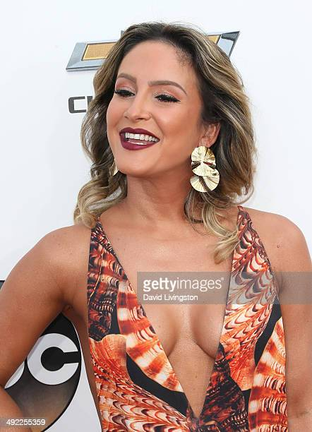 Singer Claudia Leitte attends the 2014 Billboard Music Awards at the MGM Grand Garden Arena on May 18 2014 in Las Vegas Nevada