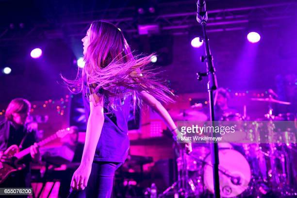 Singer Cloves and The Roots perform during the Budlight Event 2017 SXSW Conference and Festivals on March 18 2017 in Austin Texas