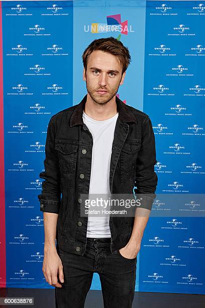 Singer Clueso poses for a photo during Universal Inside 2016 organized by Universal Music Group at MercedesBenz Arena on September 8 2016 in Berlin...