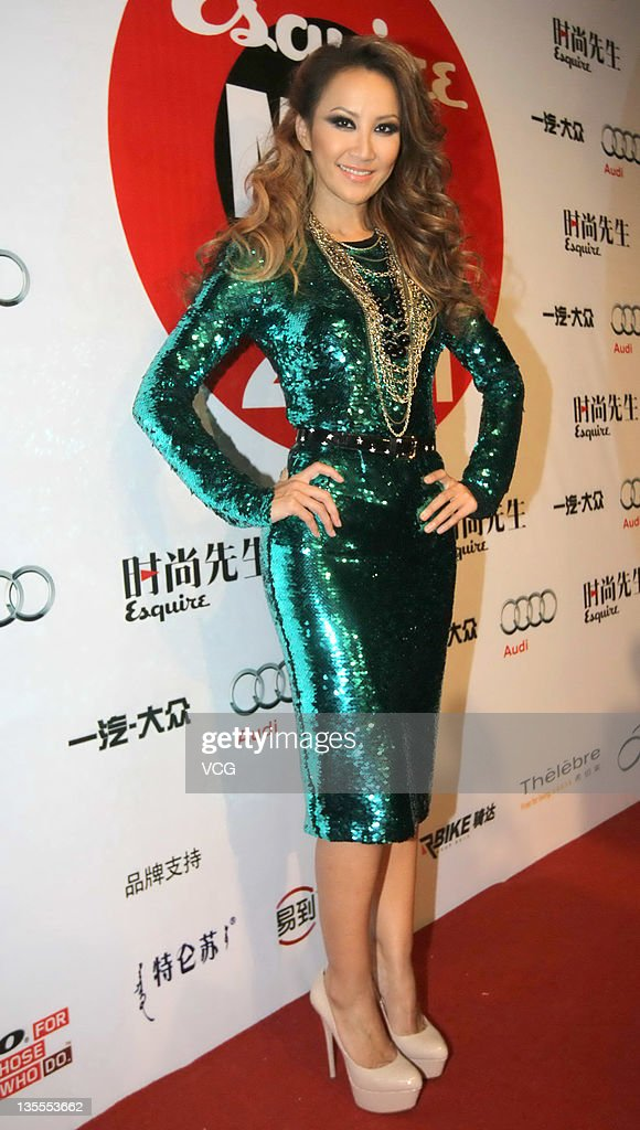 Singer Coco Lee attends Esquire Men of the Year 2011 Awards Ceremony at Tsinghua University on December 11, 2011 in Beijing, China.