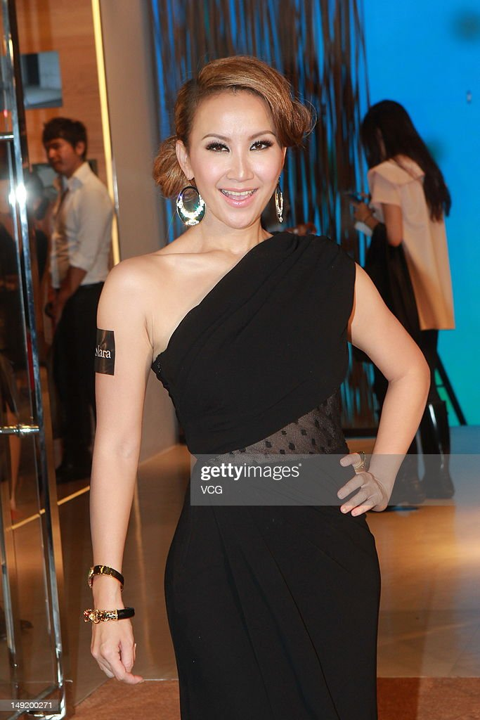 Singer Coco Lee attends Max Mara flagship store opening ceremony on July 24, 2012 in Hong Kong, Hong Kong.