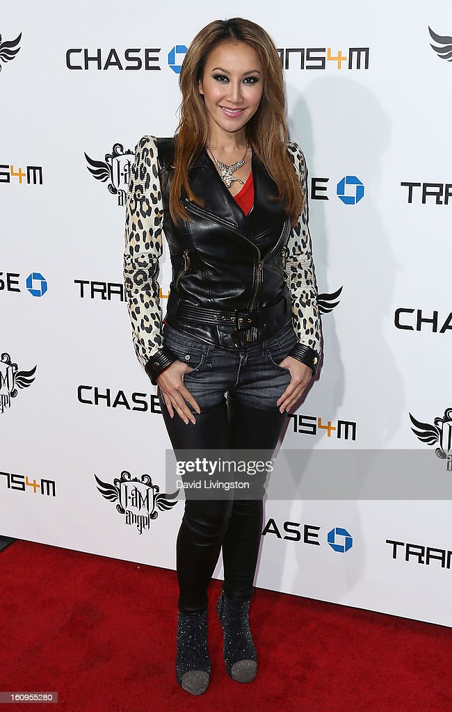 Singer Coco Lee attends the 2nd Annual will.i.am TRANS4M Boyle Heights benefit concert at Avalon on February 7, 2013 in Hollywood, California.