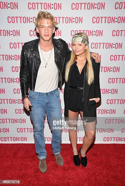 Music amp fashion meet charity stock photos and pictures getty cody simpson joins australian brand cotton on for their holiday charity campaign i give a brick m4hsunfo