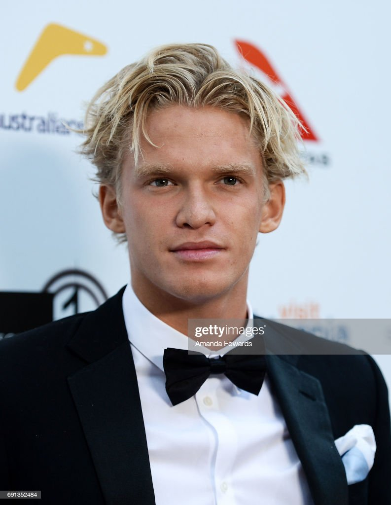 Singer Cody Simpson arrives at The 9th Annual Australians In Film Heath Ledger Scholarship Dinner at the Sunset Marquis Hotel on June 1, 2017 in West Hollywood, California.
