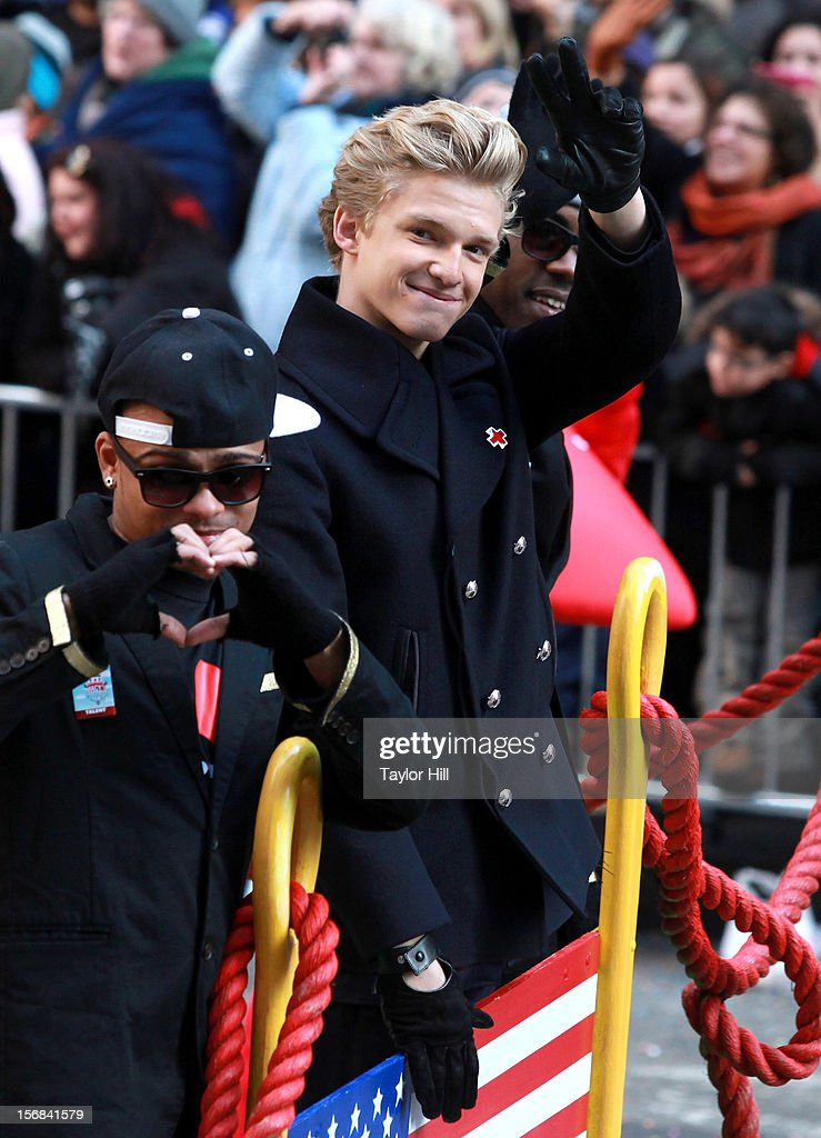 Singer Cody Simpson attends 86th Annual Macy's Thanksgiving Day Parade on November 22, 2012 in New York City.