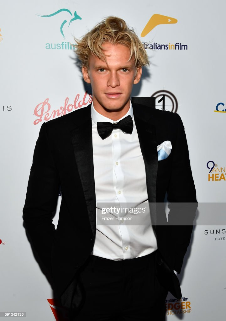 Singer Cody Simpson attends the 9th Annual Australians In Film Heath Ledger Scholarship Dinner at Sunset Marquis Hotel on June 1, 2017 in West Hollywood, California.