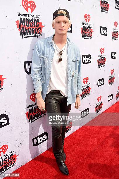 Singer Cody Simpson attends the iHeartRadio Music Awards at The Forum on April 3 2016 in Inglewood California