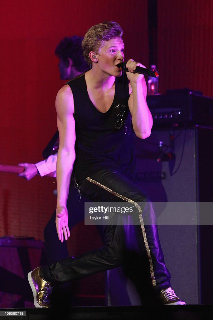 Singer Cody Simpson performs at the Birmingham Jefferson Convention Complex on January 16, 2013 in Birmingham, Alabama.