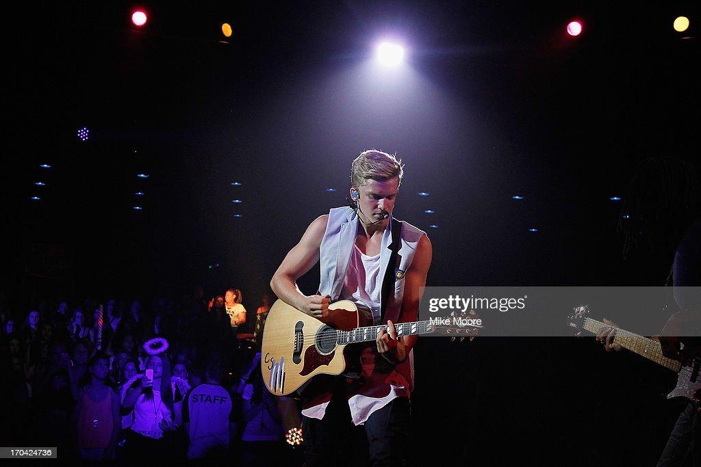 Singer Cody Simpson performs at the Celebrity Theatre on June 12, 2013 in Phoenix, Arizona.