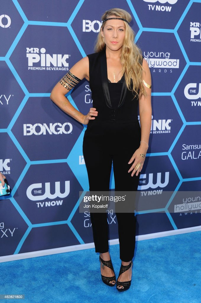 Singer Colbie Caillat arrives at the 16th Annual Young Hollywood Awards at The Wiltern on July 27 2014 in Los Angeles California