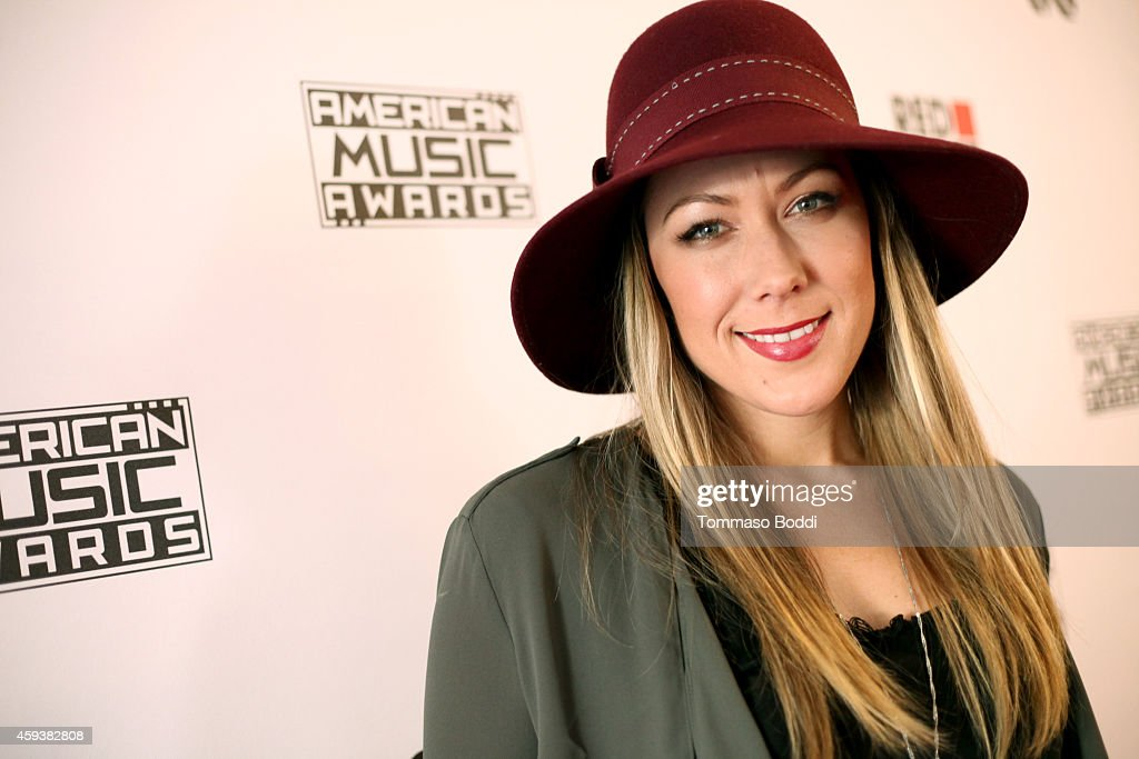 Singer <a gi-track='captionPersonalityLinkClicked' href=/galleries/search?phrase=Colbie+Caillat&family=editorial&specificpeople=4410812 ng-click='$event.stopPropagation()'>Colbie Caillat</a> attends the 2014 American Music Awards Radio Row at Nokia Theatre L.A. Live on November 21, 2014 in Los Angeles, California.