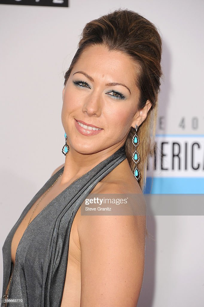 Singer Colbie Caillat attends the 40th Anniversary American Music Awards held at Nokia Theatre L.A. Live on November 18, 2012 in Los Angeles, California.