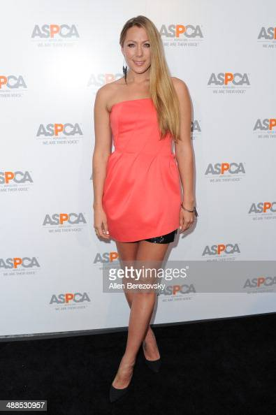 Singer Colbie Caillat attends the American Society for the Prevention of Cruelty to Animals celebrity cocktail party on May 6 2014 in Beverly Hills...