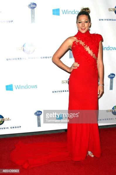 Singer Colbie Caillat attends the Universal Music Group 2014 post GRAMMY party held at The Ace Hotel Theater on January 26 2014 in Los Angeles...