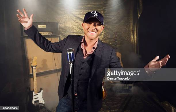 Singer Cole Swindell poses for a portrait at the Academy of Country Music Awards for People Magazine on April 6 2014 in Las Vegas Nevada