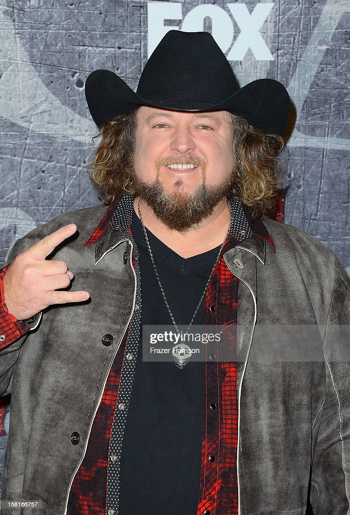 Singer Colt Ford arrives at the 2012 American Country Awards at the Mandalay Bay Events Center on December 10, 2012 in Las Vegas, Nevada.