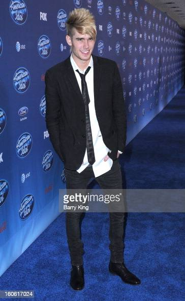 Singer Colton Dixon arrives at American Idol Season 12 premiere event held at Royce Hall UCLA on January 9 2013 in Westwood California