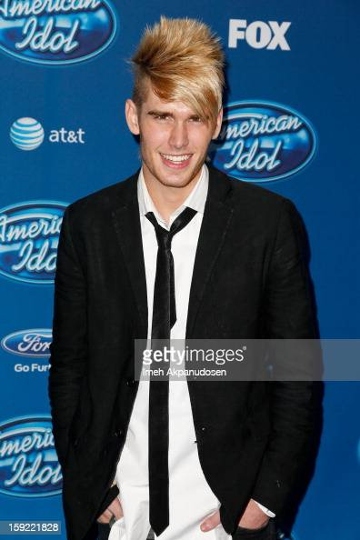 Singer Colton Dixon attends the season premiere screening of Fox's 'American Idol' at Royce Hall UCLA on January 9 2013 in Westwood California