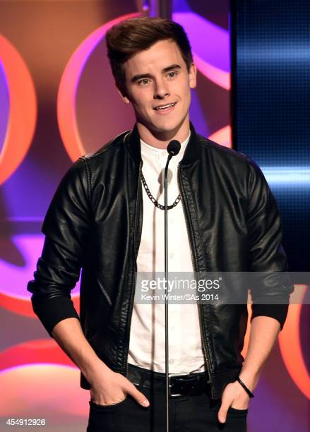 Singer Connor Franta attends the 4th Annual Streamy Awards presented by CocaCola on September 7 2014 in Beverly Hills California