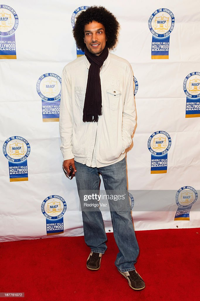 Singer <a gi-track='captionPersonalityLinkClicked' href=/galleries/search?phrase=Corey+Clark&family=editorial&specificpeople=453289 ng-click='$event.stopPropagation()'>Corey Clark</a> attends the 23rd Annual NAACP Theatre Awards at Saban Theatre on November 11, 2013 in Beverly Hills, California.