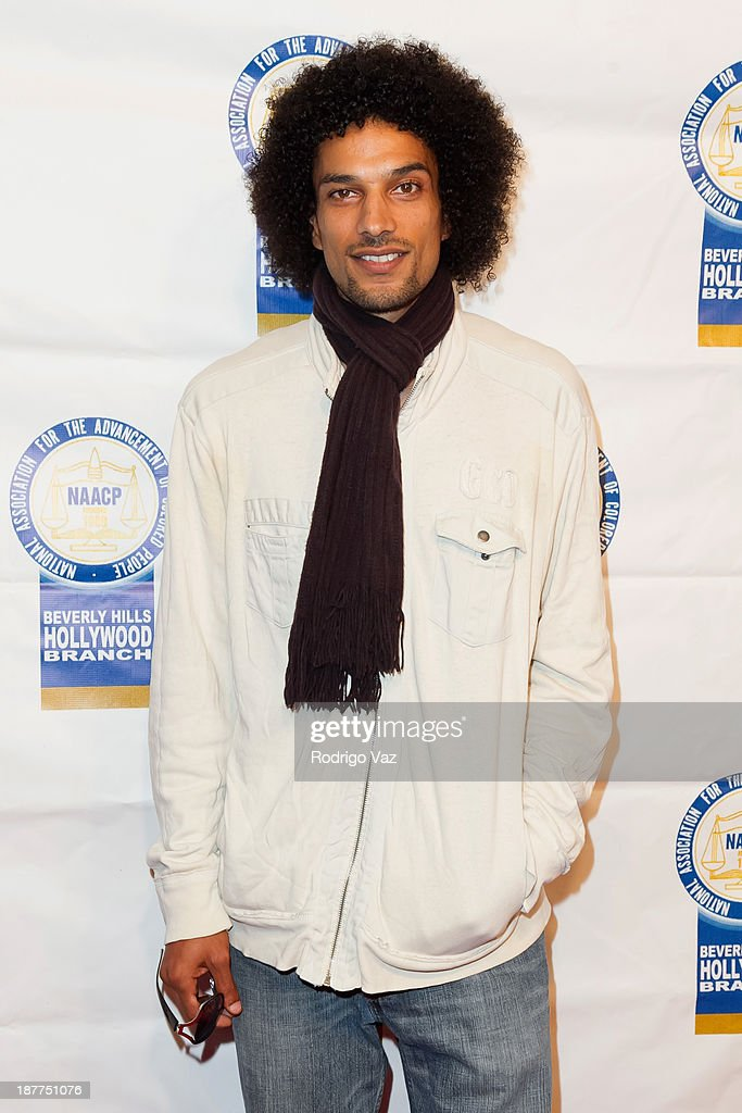 Singer Corey Clark attends the 23rd Annual NAACP Theatre Awards at Saban Theatre on November 11, 2013 in Beverly Hills, California.