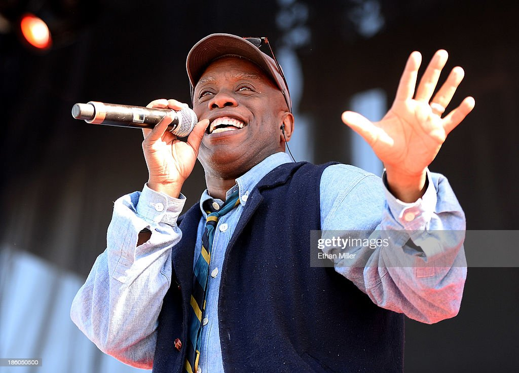 Singer Corey Glover of Living Colour performs during the Life is Beautiful festival on October 27, 2013 in Las Vegas, Nevada.
