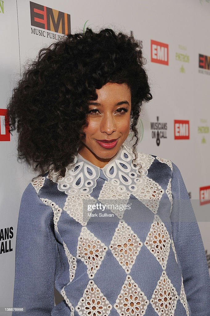 Singer Corinne Bailey Rae attends the EMI Post-GRAMMY Party held at The Capitol Tower at Capitol Records Tower on February 12, 2012 in Los Angeles, California.