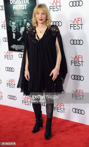 Singer Courtney Love attends AFI FEST 2017 Presented By Audi Screening Of 'The Disaster Artist' at TCL Chinese Theatre on November 12 2017 in...