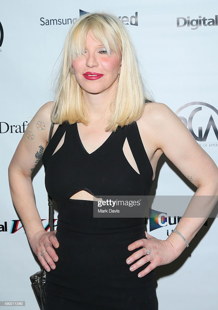 Singer Courtney Love attends the 'Producers Guild Digital VIP Event' held at Soho House on June 6, 2014 in West Hollywood, California.