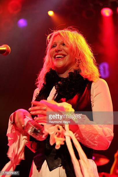 Singer Courtney Love performs at the House Of Blues in Chicago Illinois on JULY 18 2013
