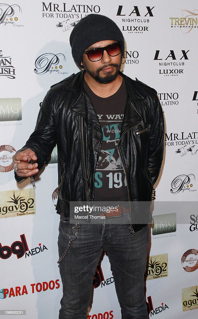 Singer Curevo attends the 13th Annual Latin GRAMMY Awards After-party at LAX Nightclub on November 15, 2012 in Las Vegas, Nevada.