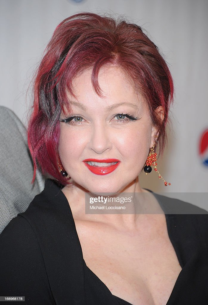 Singer <a gi-track='captionPersonalityLinkClicked' href=/galleries/search?phrase=Cyndi+Lauper&family=editorial&specificpeople=171290 ng-click='$event.stopPropagation()'>Cyndi Lauper</a> attends the 79th Annual Drama League Awards Ceremony And Luncheon at Marriott Marquis Hotel on May 17, 2013 in New York City.