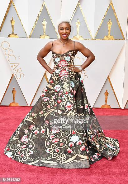 Singer Cynthia Erivo attends the 89th Annual Academy Awards at Hollywood Highland Center on February 26 2017 in Hollywood California