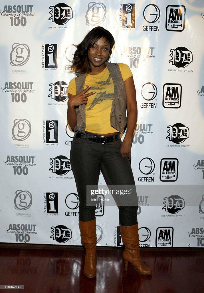 Singer D. Woods of Danity Kane attends The IGA/The Platinum Dynasty/The Garner Circle BET Hip Hop Awards 2007 Gift Suite at Opera on October 12, 2007 in Atlanta, GA.