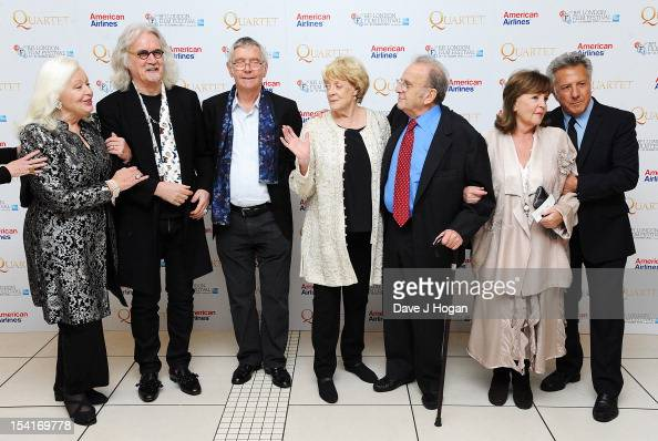 Singer Dame Gwyneth Jones comedian Billy Connolly actor Tom Courtenay actress Dame Maggie Smith Writer Ronald Harwood actress Pauline Collins and...