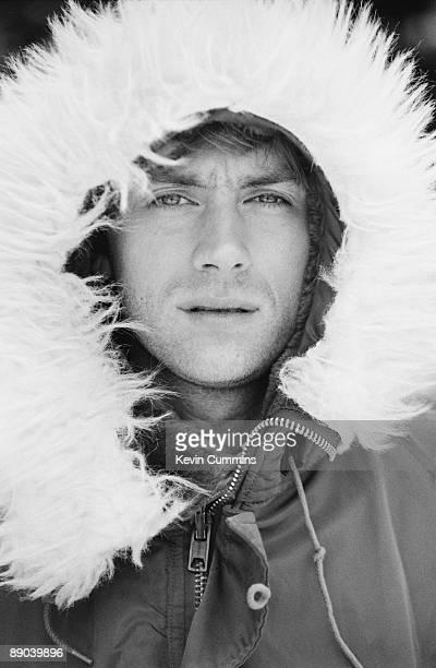 Singer Damon Albarn of English pop group Blur Iceland April 1996