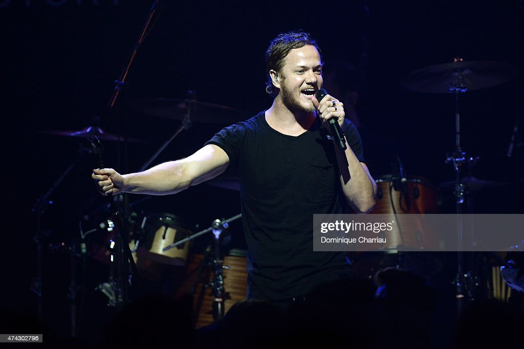 Singer Dan Reynolds of Imagine Dragons perfoms onstage during amfAR's 22nd Cinema Against AIDS Gala, Presented By Bold Films And Harry Winston at Hotel du Cap-Eden-Roc on May 21, 2015 in Cap d'Antibes, France.