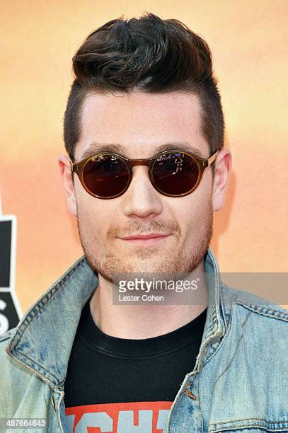Singer Dan Smith of Bastille attends the 2014 iHeartRadio Music Awards held at The Shrine Auditorium on May 1 2014 in Los Angeles California