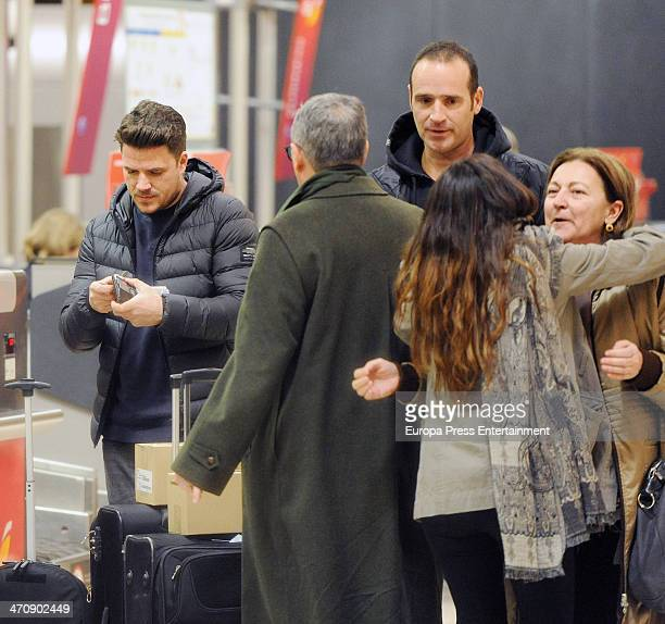 Singer Dani Martin is seen on February 20 2014 in Madrid Spain