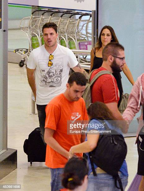 Singer Dani Martin is seen on July 24 2014 in Madrid Spain