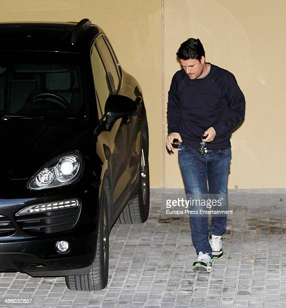 Singer Dani Martin is seen on March 18 2014 in Madrid Spain